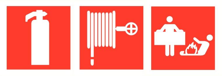 brandbeveiliging pictogrammen
