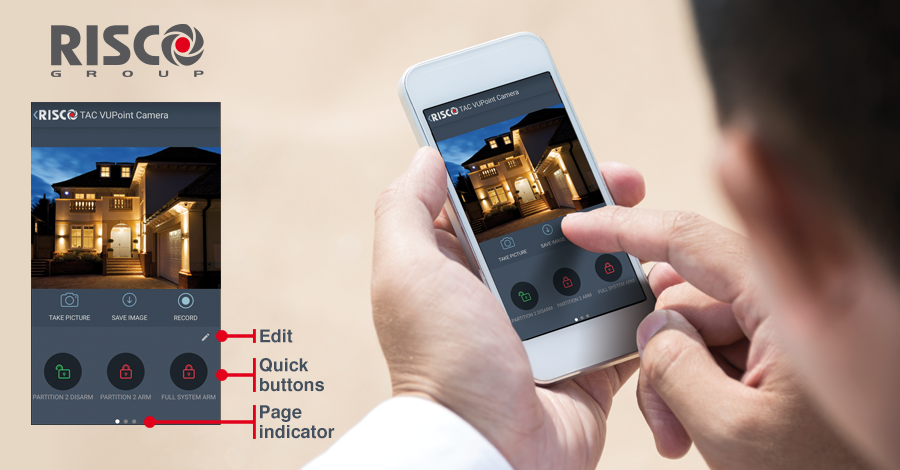 iRISCO Smartphone App